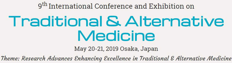 Traditional and Alternative Medicine Congress 2019 Japan