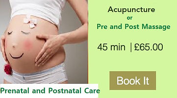 Prenatal and Postnatal Care |  Acupuncture | Pregnancy Massage