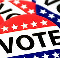 Website And Bulletin Icon - Election Day