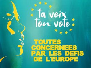 """G5+ co-organises an event in Paris: """"ta voix ton vote. Toutes concernées par les défis de l&#39"""