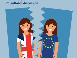 GENDER & BREXIT : Why women's voices are important- Roundtable discussion