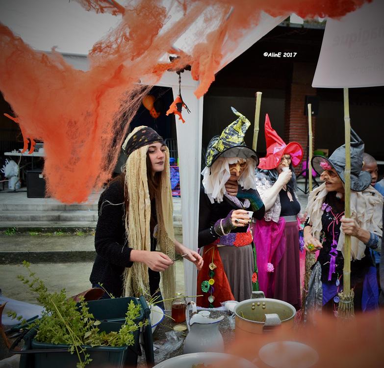 Le groupe des sorcières