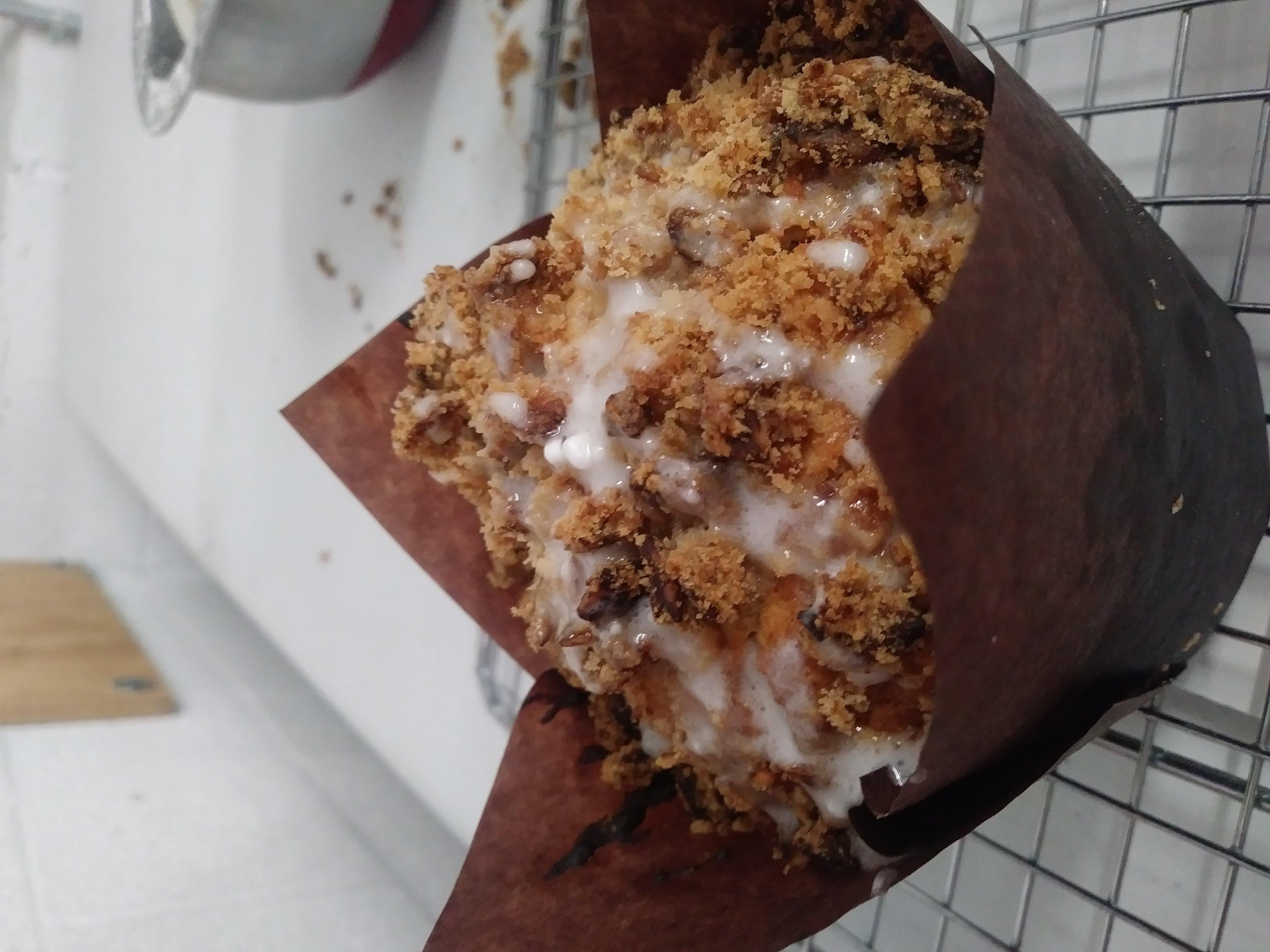 Honey Granola Apple Muffin