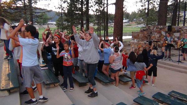 Worship at Big Bear Lake Christian Conference Center