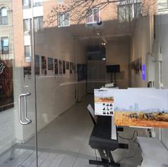NYC Art Exhibit Design