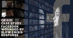 Facebook crisis communications case study