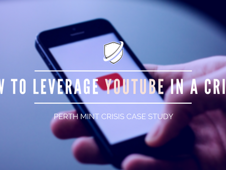 Perth Mint Cyber Attack Case Study: How to leverage YouTube in a crisis