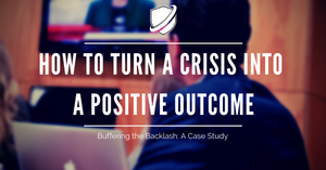 How to turn a crisis into a positive outcome