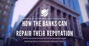How the Banks Can Repair Their Reputation: Crisis Shield