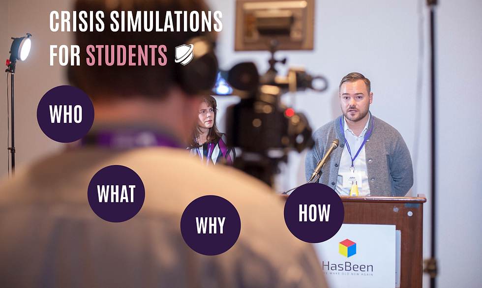 Crisis Simulations for Students