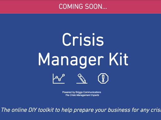 Update: We're building a new crisis management service for SMEs