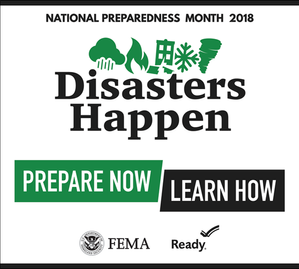 FEMA National Preparedness Month