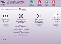 Crisis Management App