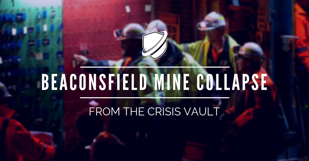 Crisis Shield Vault: Beaconsfield Mine Collapse