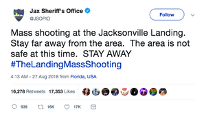 Police warn people to stay away from Jacksonville Landing