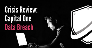 Capital One data breach crisis communication review