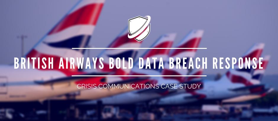 Crisis Case Study: British Airways bold data breach response