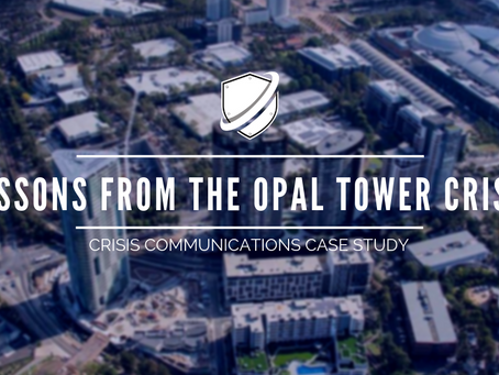 Crisis Case Study: Lessons from the Opal Tower Crisis