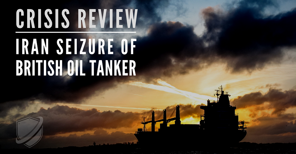Iran British Oil Tanker Seizure Crisis