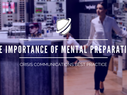 How to Manage a Crisis Tip #019: How to convey the importance of mental preparation