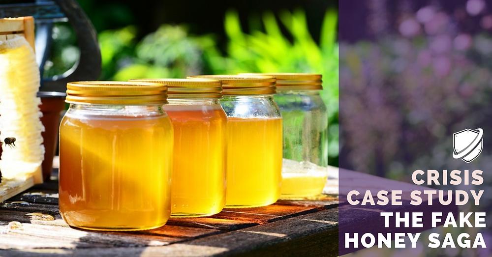 Crisis Case study fake honey