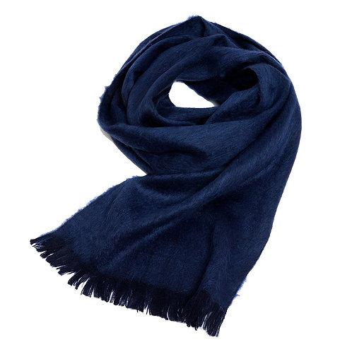 Foulard de laine d'alpaga Navy