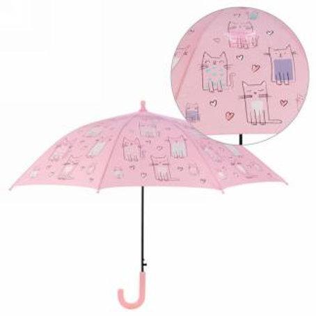 Parapluie enfant couleur changeante - Chat