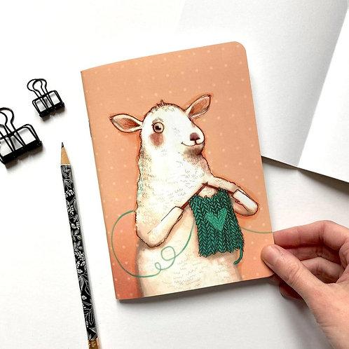 Carnet de notes Mouton tricot