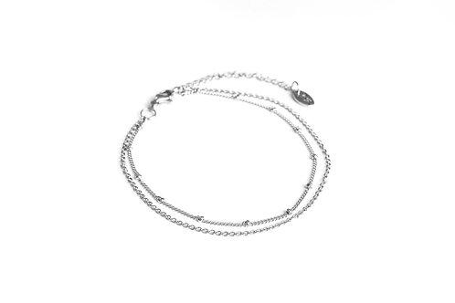 Bracelet de cheville Bondi argent