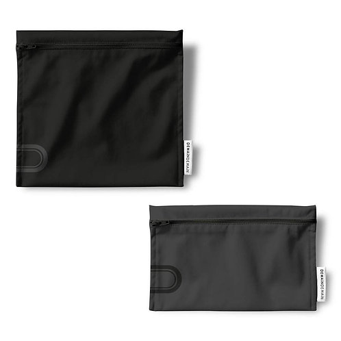 Duo de sacs réutilisables Carbone