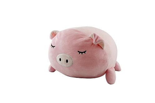 Peluche cochon rose 40 cm