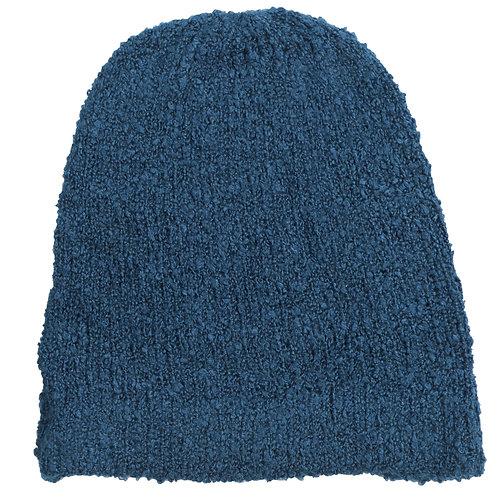 Tuque en mohair - Cobalt