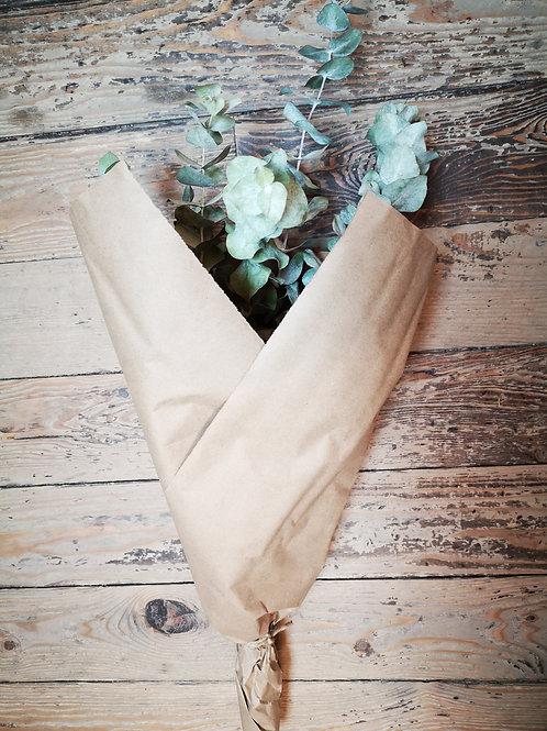Bouquet de fleurs séchées - Eucalyptus