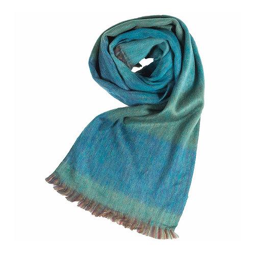Foulard de laine d'alpaga Sea Green