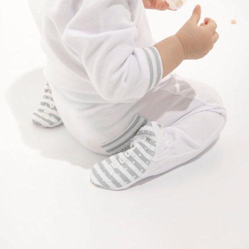 Pyjama de coton bio blanc