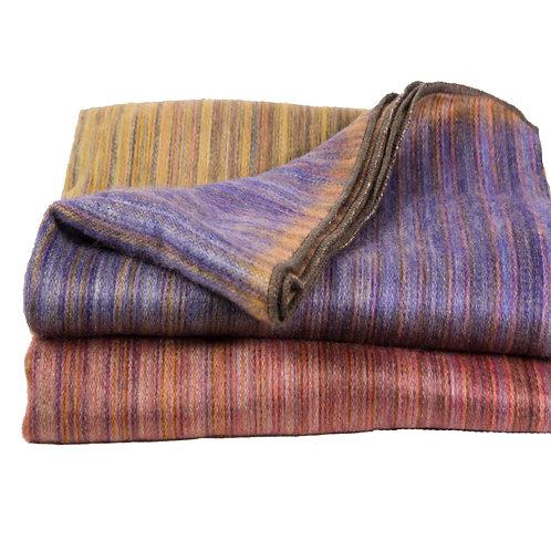 Jeté de laine d'alpaga Opal