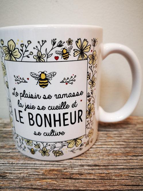Tasse ''Le bonheur''