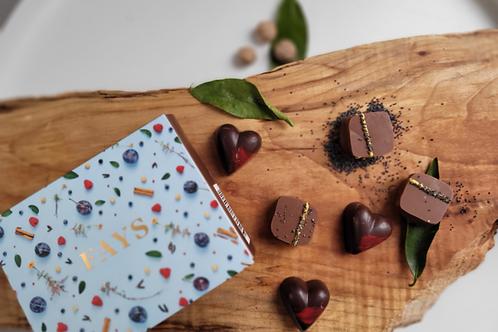 Boîte de 6 chocolats, édition fête des mères