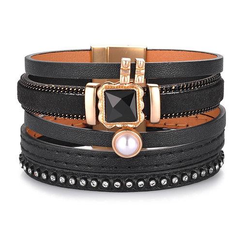Bracelet Nomaad noir