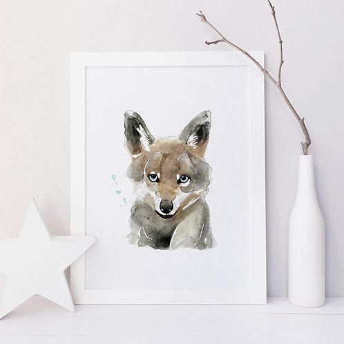 Affiche loup
