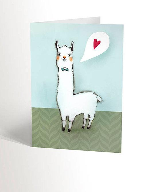Carte Lama love