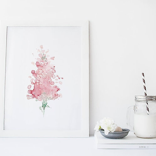 Affiche lilas