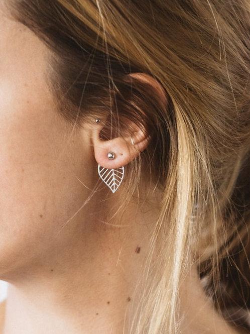 Boucles d'oreilles Feuilles