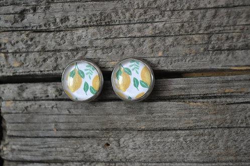 Boucles d'oreilles Citrons