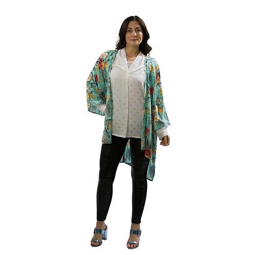 Kimono Tropical Aqua