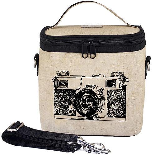 Sac en textile de lin - Black Camera