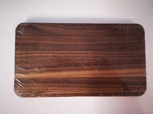 Planche de service en bois de noyer de 12'' x 7''