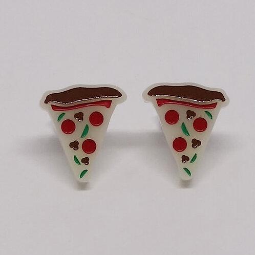 Boucles d'oreilles Pizza