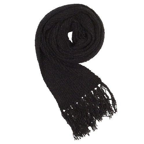 Foulard en mohair - Black
