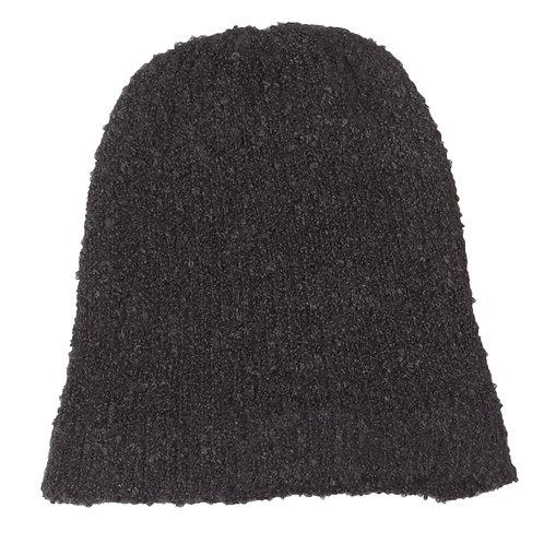 Tuque en mohair - Black